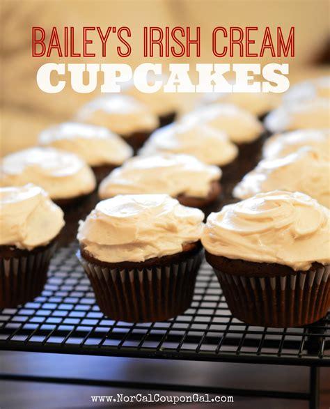 Bailey's Irish Cream Cupcakes Recipe