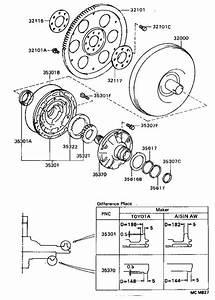 Toyota Corolla Shaft Assembly  Stator  Atm  Transmission