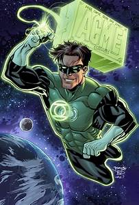 Green Lantern Inspired Artwork - designrfix.com