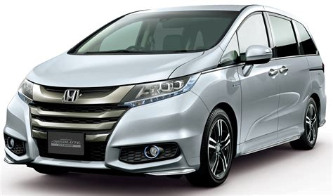 Honda Odyssey Hybrid/refresh Goes On Sale In Japan Image