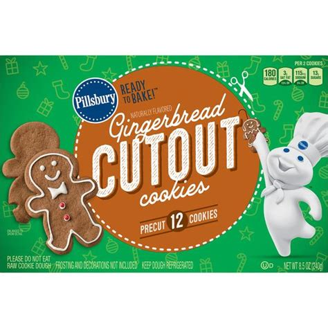We use cookies to understand and save user's preferences for future visits and compile aggregate data about site traffic and site interactions in order to offer better site experiences and tools in the future. Pillsbury Ready to Bake! Gingerbread Cutout Cookies 12Ct ...