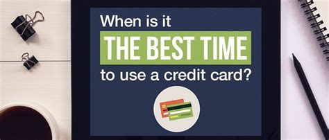 The best way to use a credit card is by using it only when you need it, and by charging only what you know you can comfortably afford to pay back. Times When Credit Cards Can Help You - Advanced Personal Finance Credit Cards