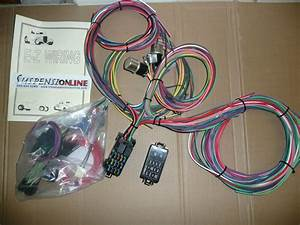 Ez Wiring Min 12 Harness Uses Mini Fuses Universal Street Hot Rod Chevy Ford Gm