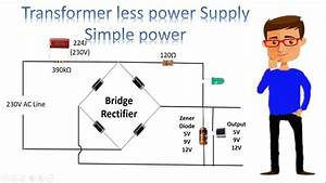 Transformer Less Power Supply