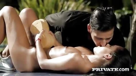 Sexy Spanish Pornstar Outdoor Sex