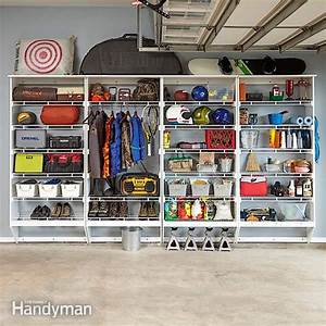Wire Shelving & Melamine Garage Storage Plans The Family