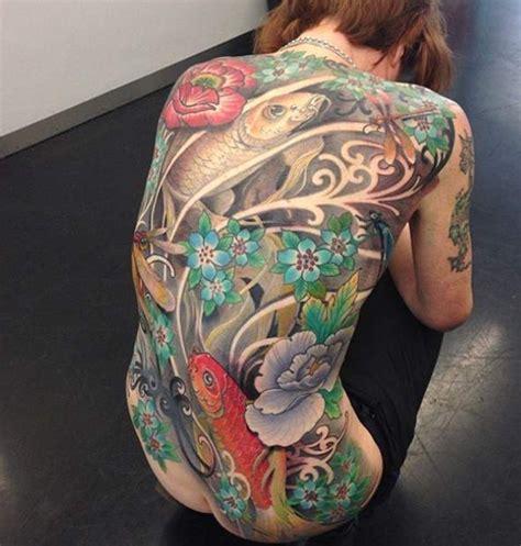 tatouage japonais tatouage carpe koi