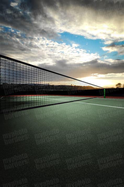 Digital Sports Background Tennis Court Iii