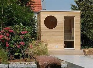 die edle sauna fur ihren garten oder ihre dachterrasse With französischer balkon mit sauna bauen garten