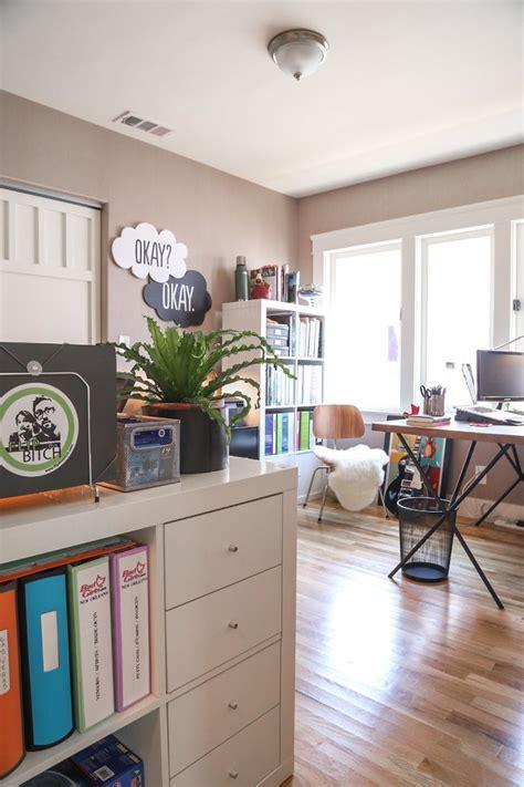 bureau sympa visite une maison avec le juste mélange de moderne et de