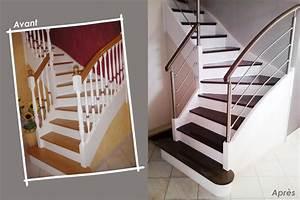 Escalier Bois Intérieur : escaliers bois escalier int rieur ext rieur divinox ~ Premium-room.com Idées de Décoration