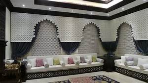 Abu dhabi moroccan majlis modern living room other for Home interior decoration llc