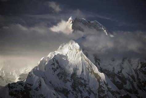 Masherbrum K1 Karakoram Mts Pakistan Art Print By Ned Norton