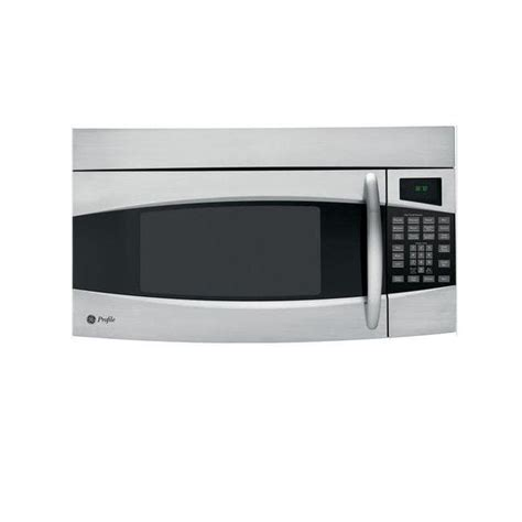ge profile spacemaker ge profile pvm1870sm stainless steel 1 8 cu ft spacemaker