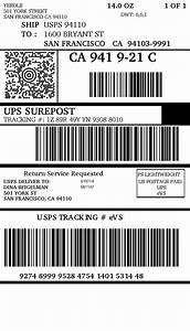 ups shipping label template popular samples templates With ups shipping label template