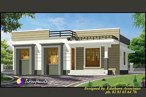 Sqft Modern Single Floor Kerala Home Design Nhomedesigncom