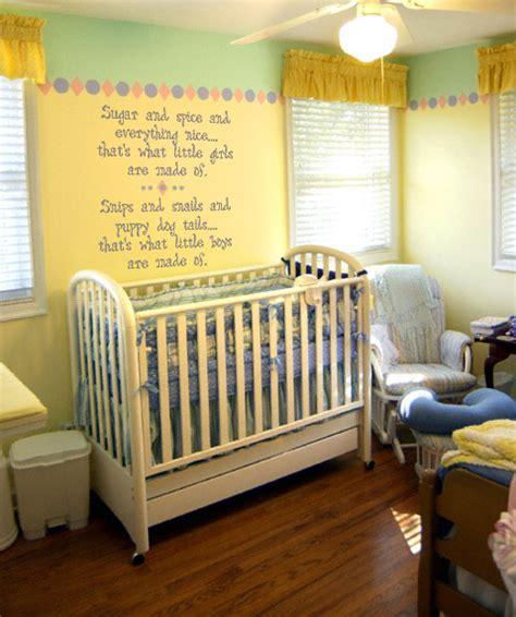 nursery theme decor