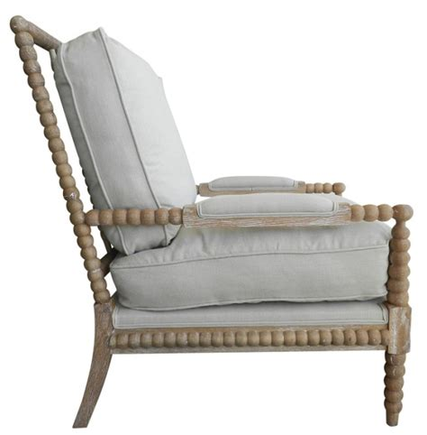 spool chair upholstered feather pair