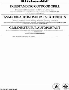 Kitchenaid 720 0732 User Manual Outdoor Grill Manuals And