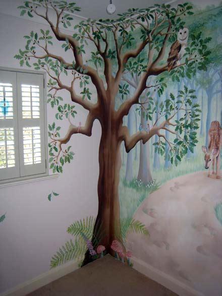 fairy woodland mural  nursery