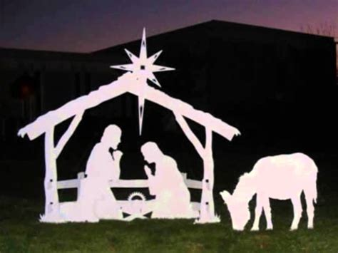 outdoor nativity sets  saleoutdoor christmas