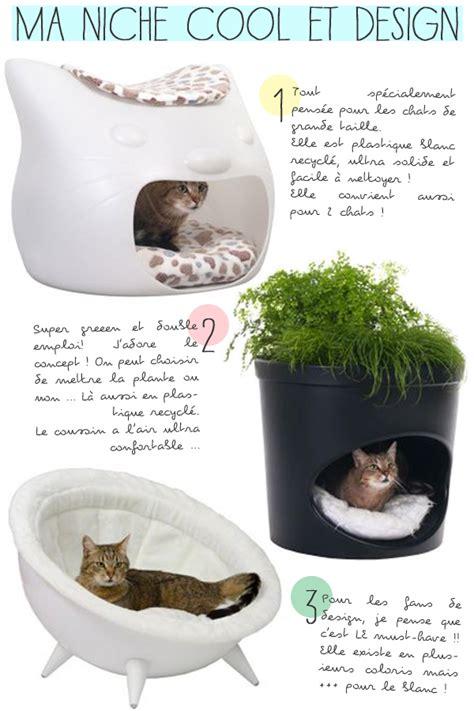 3 niches pour chats design