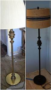 vintage floor lamp makeover lamper With floor lamp with table makeover