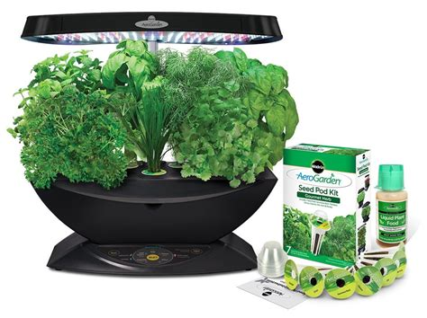 Aerogarden Led Indoor Garden With Gourmet Herb Seed Kit
