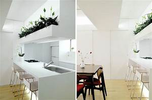 Small Apartment Design in Modern and Minimal Style by ...