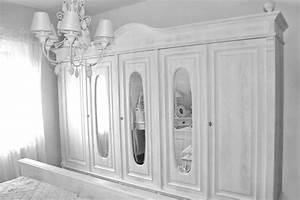 Kleiderschrank 250 Cm Breit : 5 t riger kleiderschrank mit spiegel 250 cm breit massiv aus holz ~ Indierocktalk.com Haus und Dekorationen