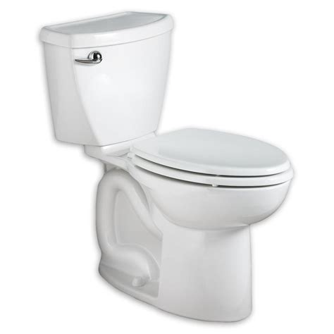 american standard cadet 3 flowise tall height 2 piece 1 28 gpf high efficiency elongated toilet