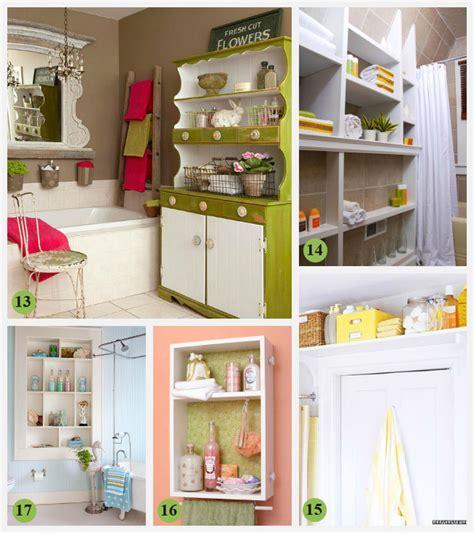 clever bathroom storage ideas 28 creative bathroom storage ideas