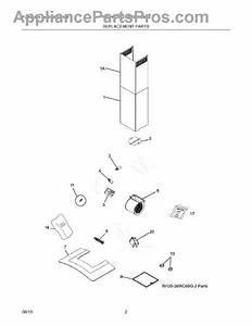 Parts For Frigidaire Rh36wc60gsa  Replacement Parts