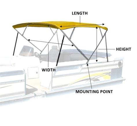 Pontoon Boats Bimini Tops by Pontoon Bimini Tops National Bimini Tops