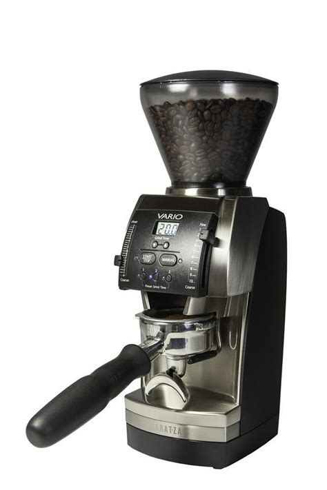 What are the top burr coffee grinders of 2021? Baratza Vario - 54mm Flat Burr Coffee Grinder — iDrinkCoffee.com