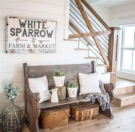 Refresh your home with ideas from our favorite farmhouse living rooms. 75 Best Farmhouse Wall Decor Ideas for Living Room (29) - Ideaboz