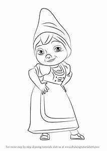 Learn How to Draw Juliet from Gnomeo & Juliet (Gnomeo ...
