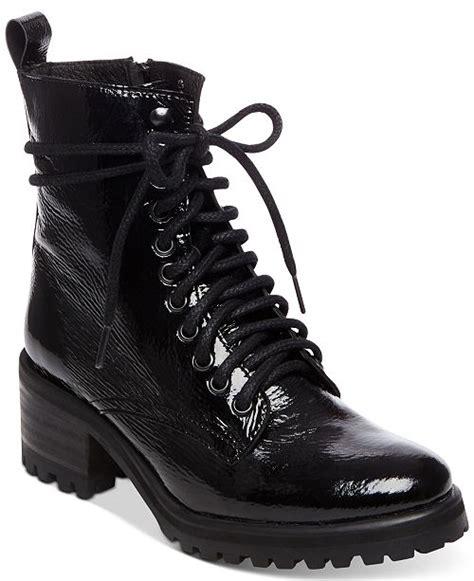 steve madden womens geneva combat boots boots shoes