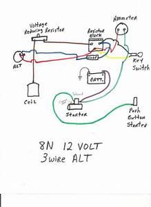 Ford 8n Wiring Diagram  U2013 Yesterday U0026 39 S Tractors  U2013 Readingrat Net