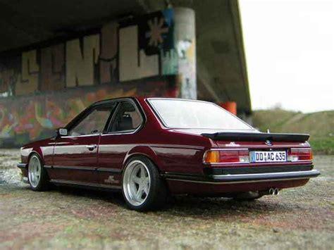 Bmw 635 Csi M Ac Schnitzer Autoart 118 1986 Bmw M 635