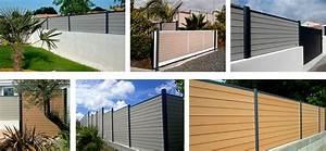 Faire Un Mur De Cloture : les avantages d 39 une cl ture en bois composite ~ Premium-room.com Idées de Décoration