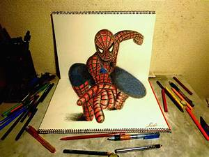 3D Drawing - The Amazing Spider-man2 by NAGAIHIDEYUKI on ...