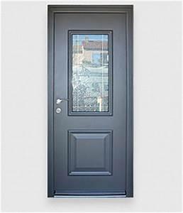 Les portes d'entrée aluminium résistantes, la gamme des portes en alu