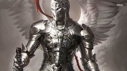 Knight Fantasy Wallpapers Knights Angelic Angel Medieval