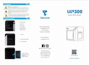 Up300 User Manual And Quick Start Guide   3d Printing Systems