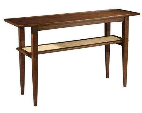 modern danish sofa table mid century by hekman he 951309mw