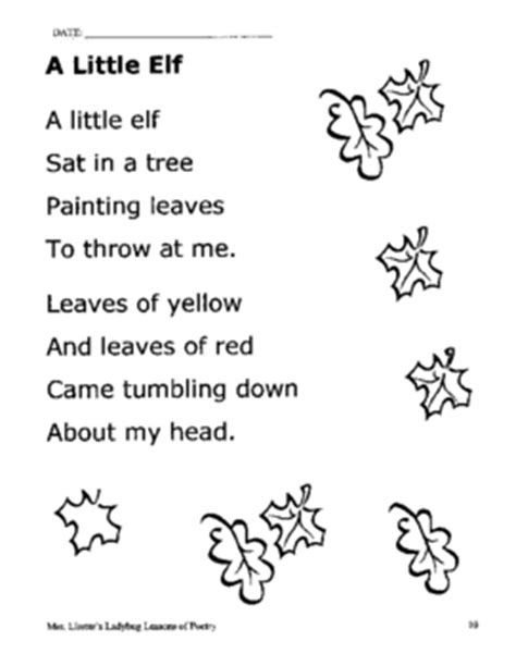 elementary poetry collection by mary lirette teachers