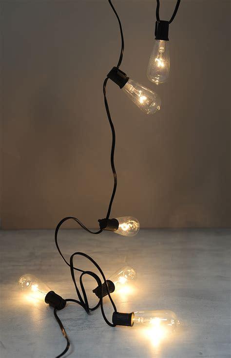 edison christmas tree lights string lights with edison bulb lights warm white 9ft