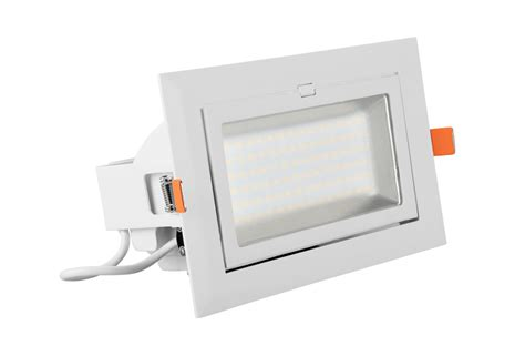 21w directional dimmable led rectangular downlight led