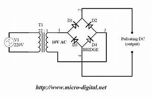 Full Wave Bridge Rectifier Supply